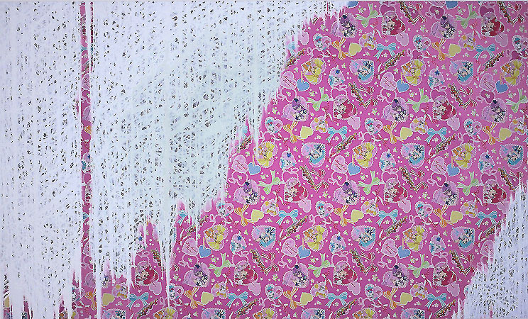 perspective/pink 2011 970 × 1620mm